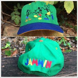 Vintage Disney Mickey Mouse Goofy Jammin Hat